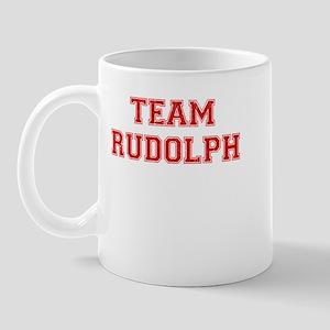 Team Rudolph Red Mug