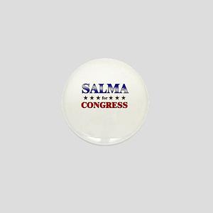 SALMA for congress Mini Button