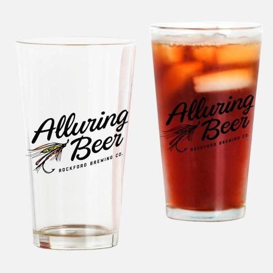 RBC 'Alluring Beer' Logo Drinking Glass