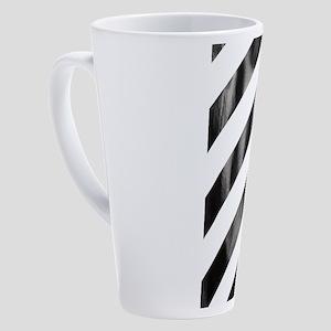 Strip 17 oz Latte Mug