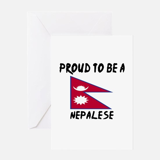 Proud To Be Nepalese Greeting Card