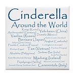 Cinderella Around the World Tile Coaster