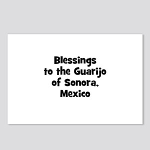 Blessings to the Guarijo of S Postcards (Package o