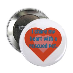 I Share My Heart Button