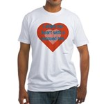 I Share My Heart Fitted T-Shirt