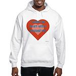 I Share My Heart Hooded Sweatshirt