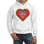 I Share My Heart Hooded Sweatshirt