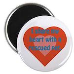 I Share My Heart Magnet