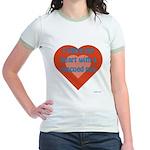 I Share My Heart Jr. Ringer T-Shirt