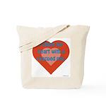 I Share My Heart Tote Bag