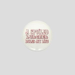 Spoiled Lurcher Mini Button