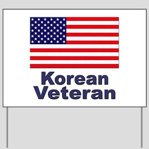 Korean Veteran Yard Sign