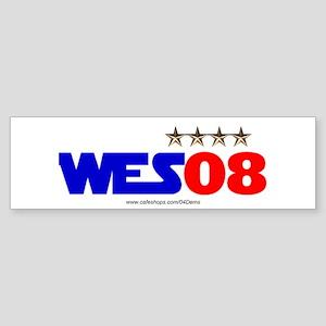 """Wes 08"" Bumper Sticker"
