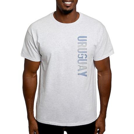Uruguay Stamp Light T-Shirt