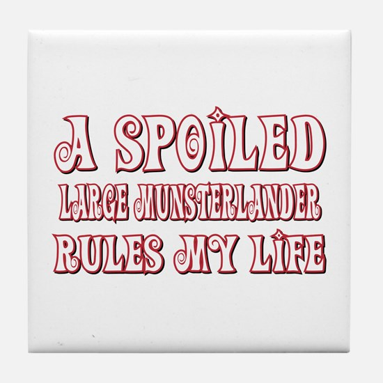Spoiled LM Tile Coaster