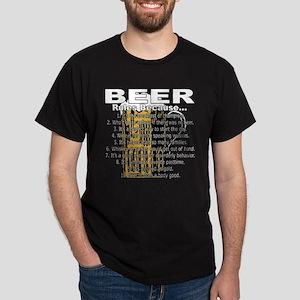 Beer Rules Dark T-Shirt