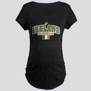 IE Ireland(Eire/Erin)Hockey Maternity Dark T-Shirt