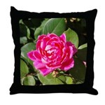 One Pink Rose Throw Pillow
