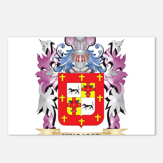 Hinojosa Coat of Arms (Fa Postcards (Package of 8)