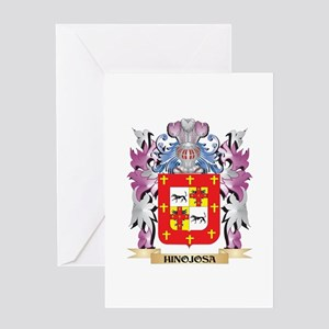 Hinojosa Coat of Arms (Family Crest Greeting Cards