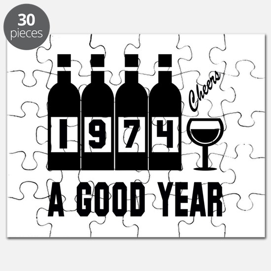 1974 A Good Year, Cheers Puzzle