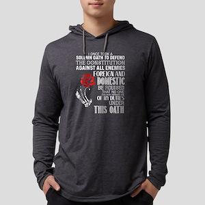 I'm A Veteran T Shirt Long Sleeve T-Shirt