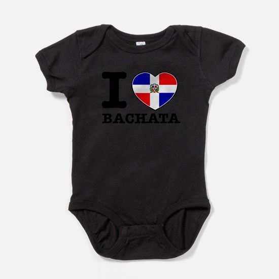 Cute Dominican republic Baby Bodysuit