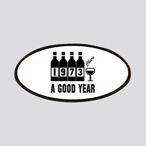 1973 A Good Year, Cheers Patch