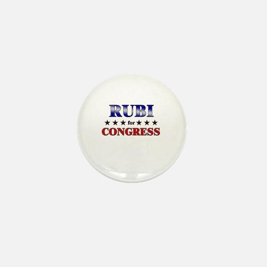 RUBI for congress Mini Button