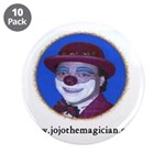 "JOJO THE CLOWN 3.5"" Button (10 pack)"