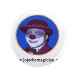 "JOJO THE CLOWN 3.5"" Button"