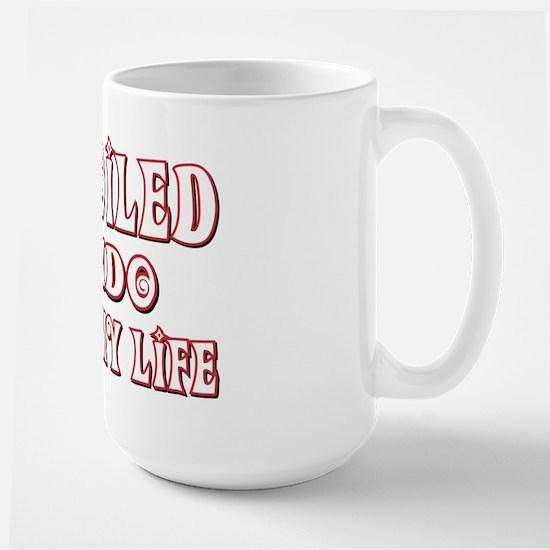 Spoiled Jindo Large Mug