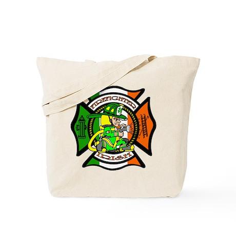 Firefighter-Irish Tote Bag