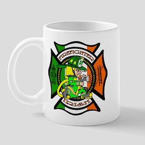 Firefighter-Irish Mug