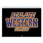 Real-Life Western Comics 2018 Wall Calendar