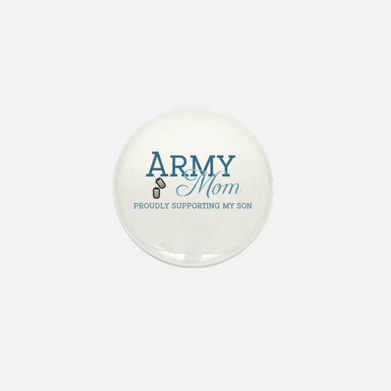 Army Mom Mini Button