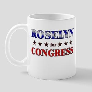 ROSELYN for congress Mug