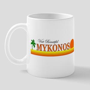 Visit Beautiful Mykonos, Gree Mug