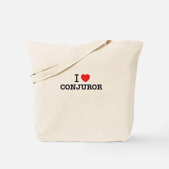 I Love CONJUROR Tote Bag