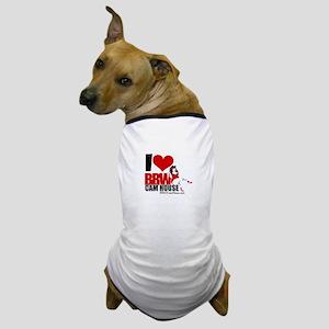 I LOVE BBWCAMHOUSE Dog T-Shirt