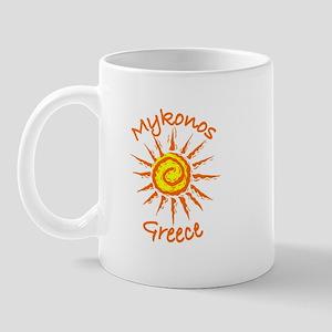Mykonos, Greece Mug