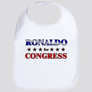 RONALDO for congress Bib
