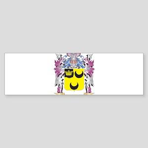 Hodgkin Coat of Arms (Family Crest) Bumper Sticker