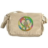 Elephants Canvas Messenger Bags