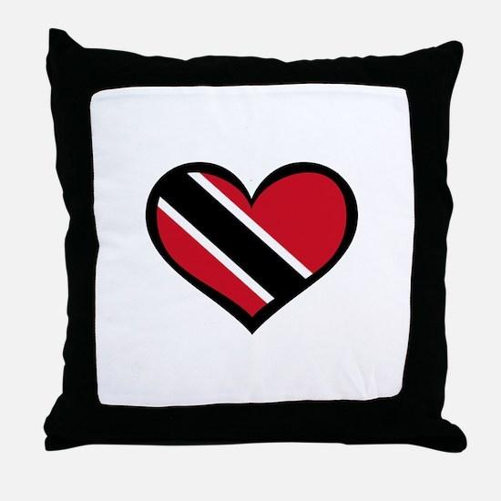 Trinidad Love Throw Pillow