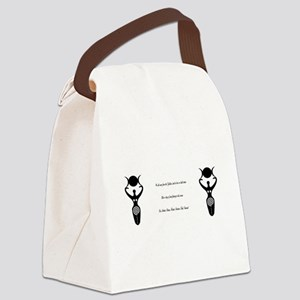 Wicca Chant Canvas Lunch Bag