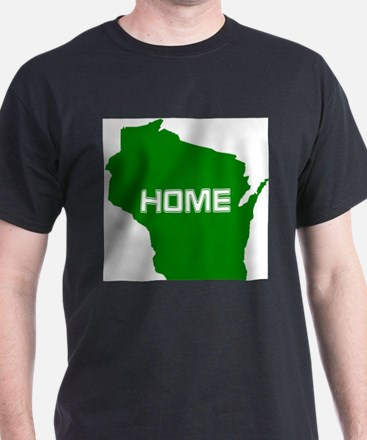 212beebfd Wisconsin And Badger, Packer, Brewer T-shirts | CafePress