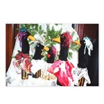 """CRO'S """"CROW CHRISTMAS"""" Postcards (Package of 8)"""
