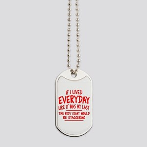 Staggering Body Count Dog Tags
