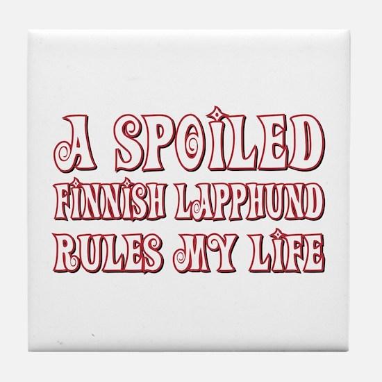 Spoiled Lapphund Tile Coaster